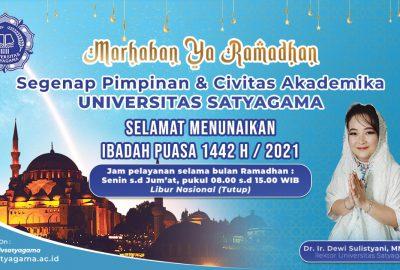 Jam Pelayanan Selama Ramadhan 2021