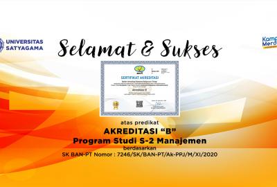 Predikat Akreditasi S2 Magister Manajemen